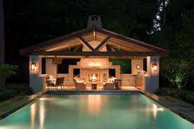 pool and outdoor kitchen designs unique pool and outdoor kitchen designs with clearwater area image