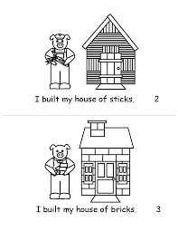 pigs houses printable