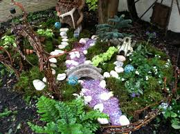 fairy garden ideas landscaping images about miniature gardens in ground fairy garden authentic on