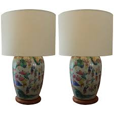 Ginger Jar Table Lamps by Viyet Designer Furniture Lighting Paul Ferrante Antique
