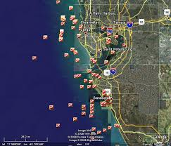 earthnc florida permitted artificial reef locations