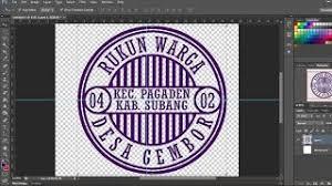 membuat efek stempel dengan photoshop cara mudah buat stempel dengan photoshop tutorial photoshop
