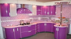 Kitchen Color Schemes by Latest Purple U0026 Pink Kitchen Design Ideas Modern Kitchen Color