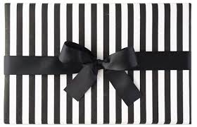 black and white striped wrapping paper gift wrap black white striped marble vine