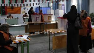 tenue d un bureau de vote libye des élections libres ne peuvent pas être tenues dans le
