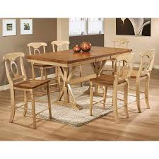 amazon com winners only quails run counter height dining table