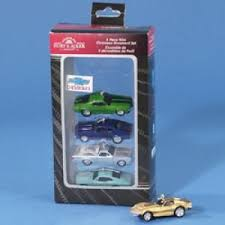 chevrolet 5 pack miniature car ornaments products
