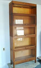 Barrister Bookcases With Glass Doors Bookcase Antique Bookcase Glass Doors Antique English Carved