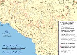 Capri Italy Map by Giovanni Visetti Hiking Walking Maps Info And A Lot More