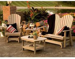 poly lumber recycled plastic patio furniture made by amish furniture