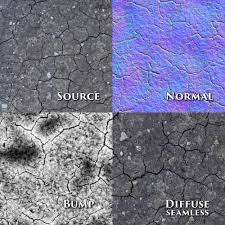 seamless ground textures 5pack normalbump 3d model in ground 3dexport