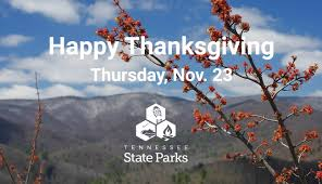 dining options for a happy thanksgiving tennessee state parks