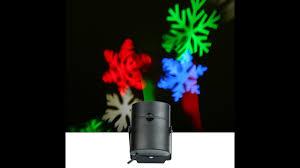 Led Christmas Light Projector by Christmas Light Projector Rotating Snowflake Led Spotlight Wall