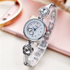 luxury bracelet watches images Rhinestone luxury stainless steel quartz watch for women reviewtive jpg