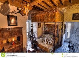 15th century bunratty castle interior editorial stock photo