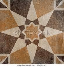 floor tiles porcelain ceramic tile geometric stock illustration