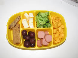 building rainbows toddler lunch ideas