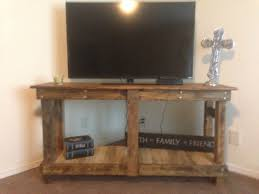 How To Build Wood Tv Stands Ana White Rustic Tv Stand Diy Projects