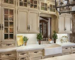 rustic kitchen cabinets with glass doors country kitchens cabinets country kitchen