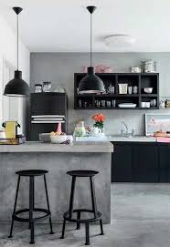 industrial kitchen design ideas industrial kitchen design with iron black chairs and