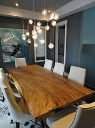 Wood Dining Room Natural Edge Dining Table Encinitas Homes Encinitas Coast Life