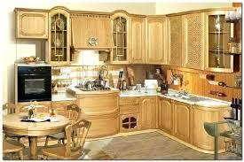 meuble cuisine en bois brut meuble cuisine bois massif photo de linterieur la maison blanche