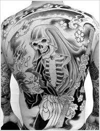 fullback skeleton grim reaper tattoo design of tattoosdesign of