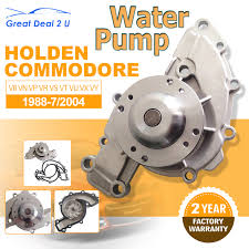 water pump for holden v6 commodore vn vp vr vs vt vu vx vy 3 8l