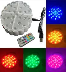 large led pod lights with a 6 diameter by glowcity usb