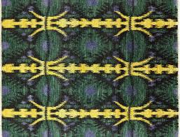 Modern Ikat Rug 8 X 10 Knotted Modern Ikat Rug