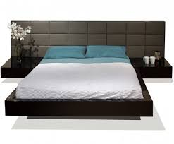 Bed With Attached Nightstands Sharon Lacqured Bed Atmosphere Interiors Modern Furniture