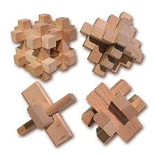 wooden puzzle 4 wooden puzzle set bed bath beyond