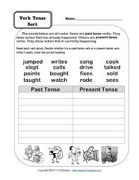 present tense verbs worksheets free worksheets library download