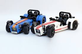 mitsubishi lego a caterham blockbuster new lego seven is coming by car magazine