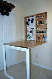 wall mounted pull down desk folding table attached to wall desk wall mounted fold down desk fold