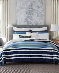 tommy hilfiger robinson stripe full queen duvet cover set