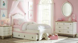 Disney Princess Enchanted Kingdom White  Pc Twin Panel Bedroom - Rooms to go kids bedroom
