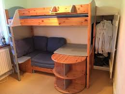 High Sleeper Bed With Desk And Sofa Wood Loft Bed With Desk And Loft Bed With Desk And