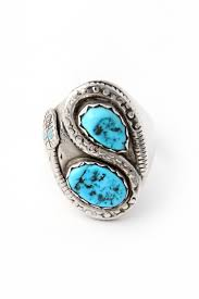 ring size mens mens zuni nieto turquoise snake ring size 10 silver