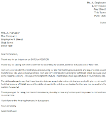 job interview follow up thank you note example u2013 cover letters and
