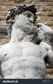 torso famous statue by michelangelo david stock photo 49204927