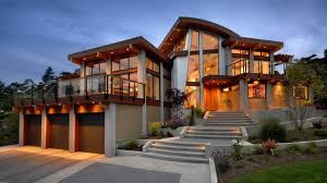 contemporary modern and futuristic looking home in canada youtube