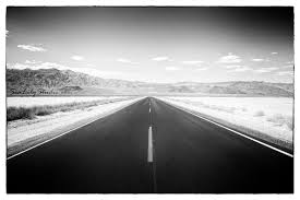 monochrome home decor lonesome highway california photography desert death valley