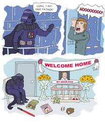 I Am Your Father Meme - welcome home luke i am your father know your meme