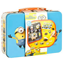 totum minions make your own magnets childrens kids craft tin set