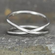 14k palladium white gold 14k palladium white gold infinity eternity ring unique
