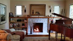 check out my new fireplace and bookcases décor revolution