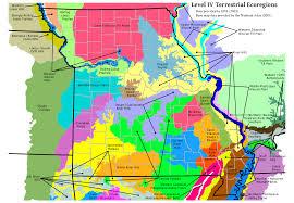 missouri map data mohap missouri level iv ecoregion map