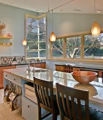 Kitchen Island With Hanging Pot Rack Look A Low Hanging Pot Rack Kitchn