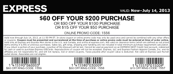 express coupons 30 off 75